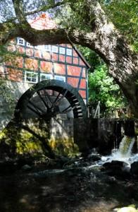 Die Wassermühle in Stuckenborstel