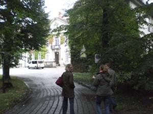 Auf dem Weg zum Schloss Storkau