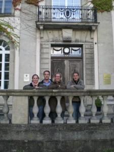 Trina; Marc; Katja und Nadine